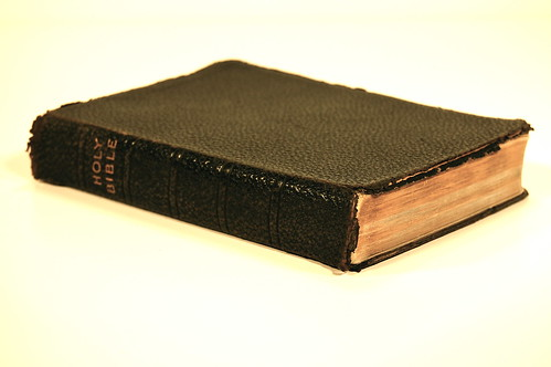 1930s Oxford Self-Pronouncing KJV - Spine