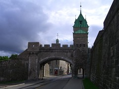 Quebec City fort walls