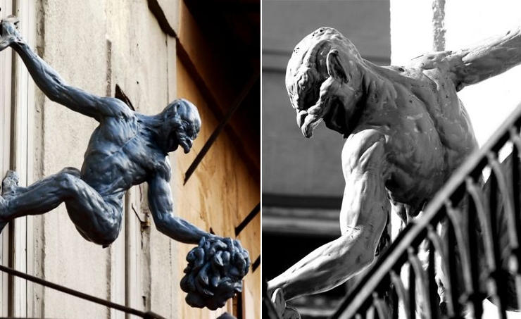 gargoyles and grotesques. this grotesque last year