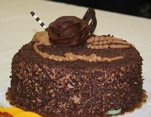 One of grandpa's chocolate cakes