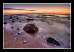 time passes (Mariusz Petelicki) Tags: sunset poland polska balticsea hdr zachód canonefs1022mm 3xp morzebałtyckie rowy canon400d mariuszpetelicki