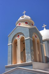 Steeple at Fira...