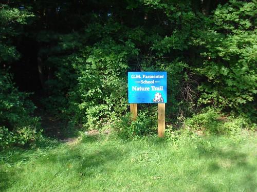 1 - Parmenter: Trail entrance