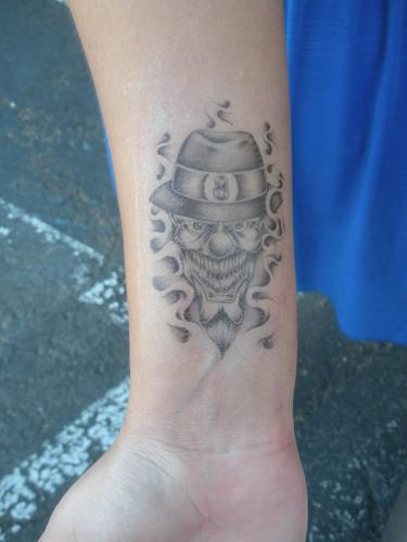 mike ness is my grandpa. tattoo
