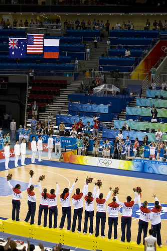 Women's Basketball Medal Ceremony — 32