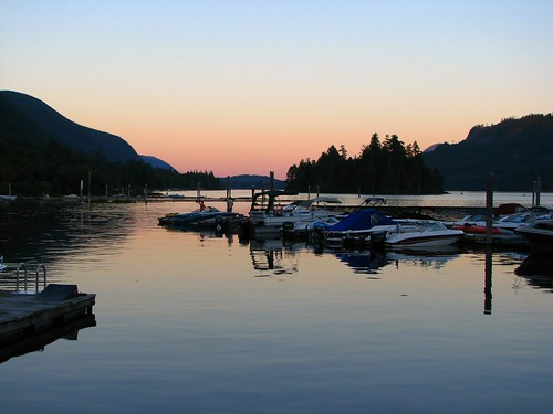 Lake Cowichan sunset