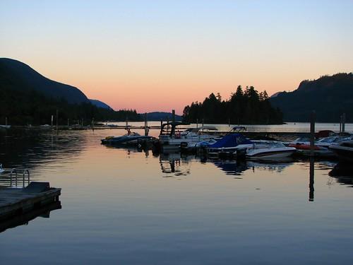 Lake Cowichan sunset