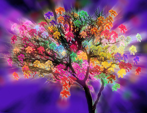 Flowered Tree of Eternal Life
