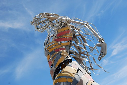 Celtic Forest Sculpture from Burning Man