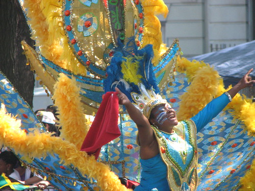 West Indian Day Parade, Brooklyn 2008; photo by David Berkowitz, Flickr