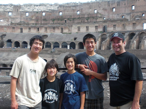The Davis Family in Italy