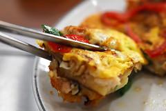 Spring onion Seafood pancake - (DSC_2425)