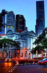 old and new (HFZ AMIN) Tags: singapore singapura