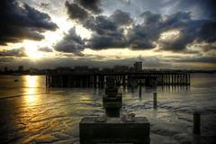Late of the Pier (Gregory Warran) Tags: sunset london true thames real mud tide perspective creative flats reality hdr woolwich global realism gregorywarran shortsharpshot talkinginwhispers seeinginpictures