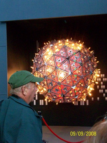 Ireland - Waterford Crystal Factory Tour - replica new years eve ball even has the light show!