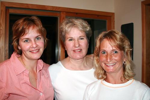 Me, Sally Fallon and Kelly the Kitchen Kop