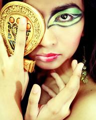 Isis (Maxinne Marie) Tags: portrait marie self glamour ancient goddess egypt makeup egyptian isis mythology myth maxinne sentina