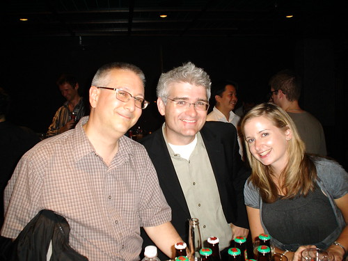 David Drucker, David Jones and Meghan Warby