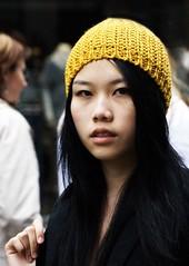 Portrait 3048 (Itzick) Tags: portrait color colour face hat d200 youngwoman