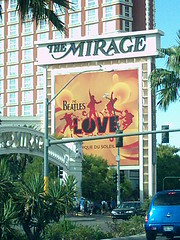 Trip to Vegas  (summer of August 08') (mymelodyshutter) Tags: love hotel casino resort beatles mirage the