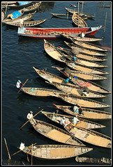 The Rhyme of Ancient River [..Dhaka, Bangladesh..] (Catch the dream) Tags: water river boats waiting transport lifestyle aerial passengers pollution transportation wait bengal bangladesh bangla array dinghy bengali polluted boatmen bangladeshi buriganga bangali waterpollution blacken riverpollution aplusphoto oldganges gettyimagesbangladeshq2