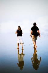 tourists (spo0nman) Tags: travel sea india film girl crossprocessed nikon goa ct ishootfilm f80 agfa precisa xprobeach