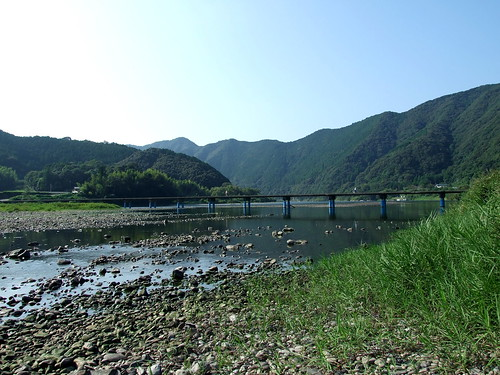 Submersible Bridge on the Shimanto River