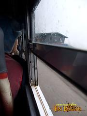 Sagada Bus Window at Halsema Highway