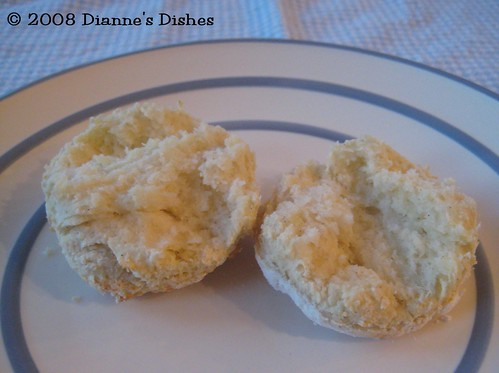 Gluten Free Buttermilk Biscuits: The Insides