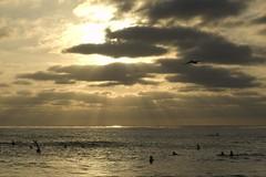 sun doesn't waits (Nicola Zuliani) Tags: california sunset sea usa water clouds pacific sandiego surfers nizu nicolazuliani nnusa wwwnizuit