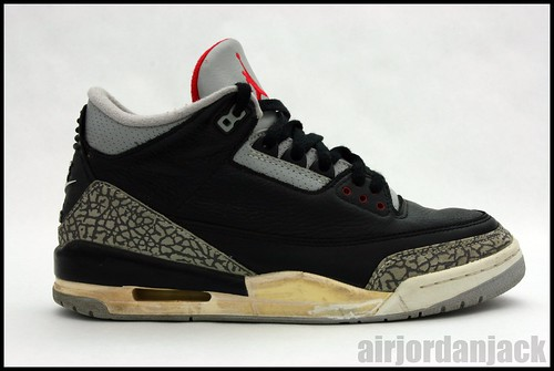 Black Cement III before restoration