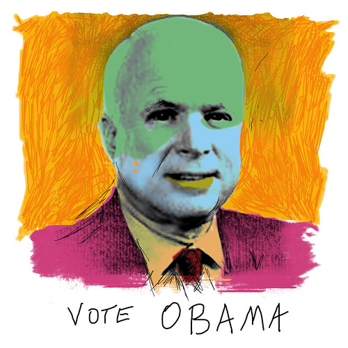 vote obama by t. bell.