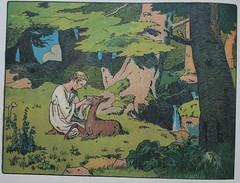 Brderchen und Schwesterchen (allerleirau) Tags: wood illustration fairytale forest vintage children book deer artnouveau wald reh fairytales mrchen jugendstil brothersgrimm kinderbuch gebrdergrimm thebrotherandsister