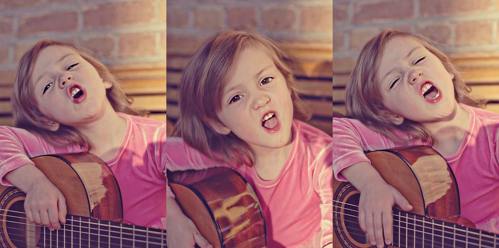 Guitar Face Series