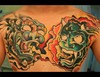 "Session 5 ""the chest"" Foo Dog & Japanese Demon Sorry for the"