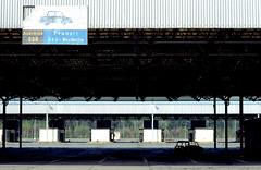 Ehemalige Grenzkontrollstelle Drewitz (Michael Westdickenberg) Tags: deutschland transit ddr brandenburg geschichte historisch grenzübergang grenze wiedervereinigung ausreise grenzverkehr grenzkontrolle drewitz