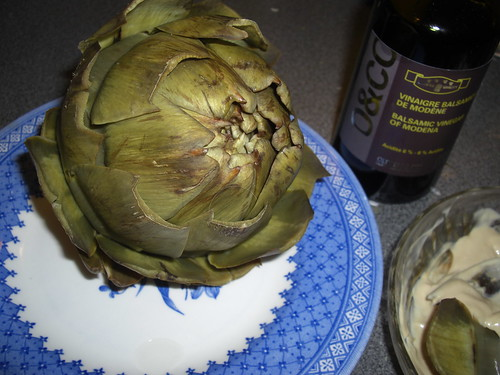 My first artichoke!