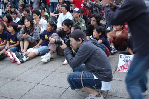 [光が丘インラインフェスティバル2008]カメラマン