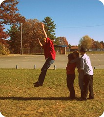 take 4. (mumbaker) Tags: school autumn senior project matt jumping