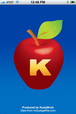 Kosher iPhone App