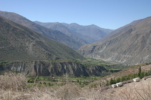 Great views just outside of Abancay, Peru.