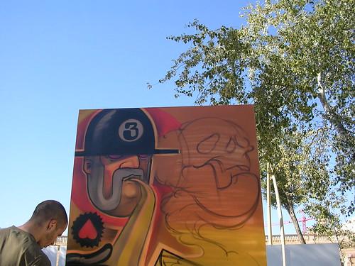 Inhalando la muerte. Grafiti 53.