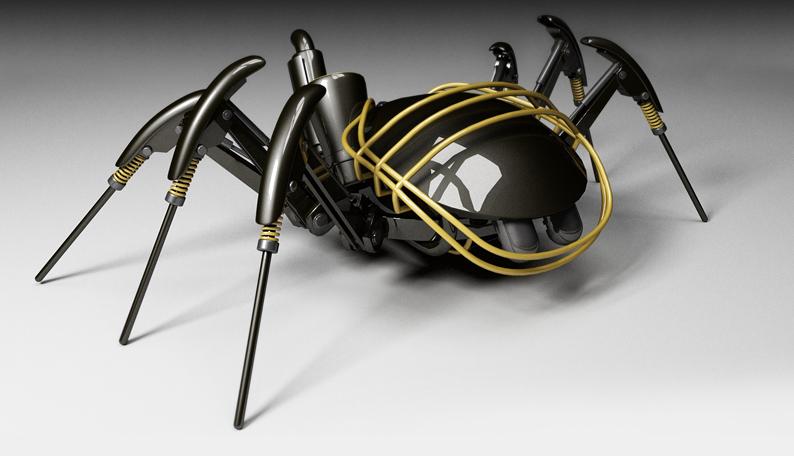 spider bot - vray