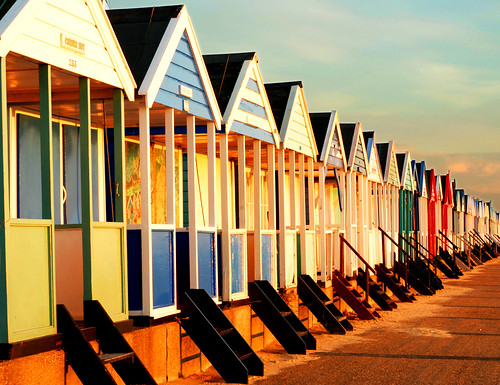 beach huts by Hamish1979