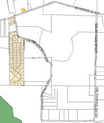 Quarterman Road, Zoning Map, Lowndes County, Georgia, 2003