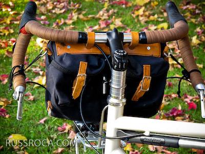 Acorn Bags Handlebar Bag Review Bikecommuters Com