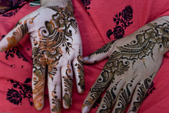 Delicacy (AamerJaved) Tags: wedding pakistan red chicago tattoo groom bride eid explore pakistani shaadi henna mehndi mendi dholki explored