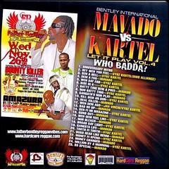 mavado vs kartel mixtape