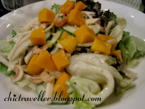 Cafe Georg Mango Tahini Salad