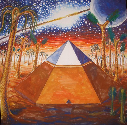 Piramida de pe Marte in trecutul indepartat